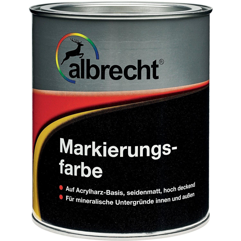 Albrecht Markierungsfarbe Weiß 25 L