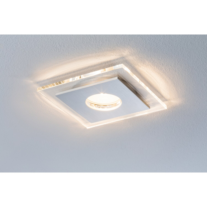 Paulmann LED-Einbauleuchten 3er-Set Single eckig EEK: A kaufen bei OBI