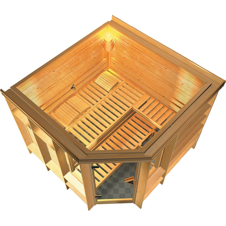 karibu premium sauna marona kaufen bei obi. Black Bedroom Furniture Sets. Home Design Ideas