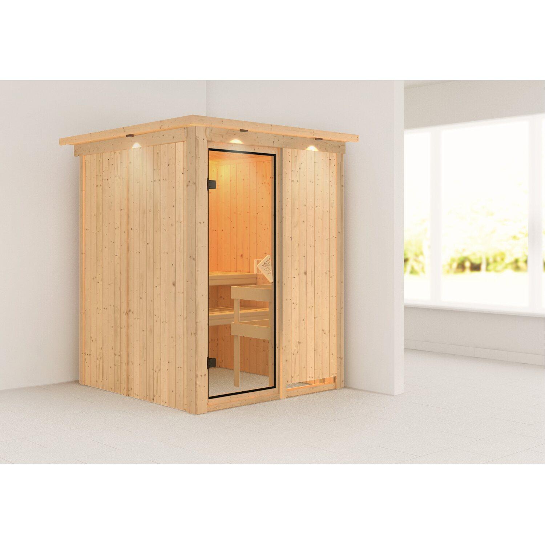 karibu sauna minja kaufen bei obi. Black Bedroom Furniture Sets. Home Design Ideas