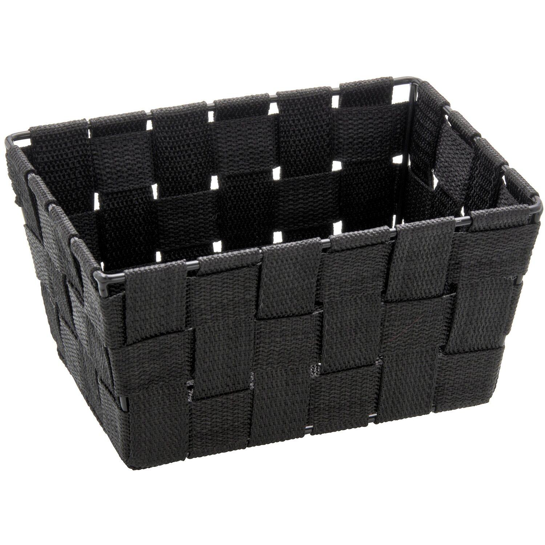 Wenko aufbewahrungskorb adria mini schwarz rechteckig for Planschbecken rechteckig obi