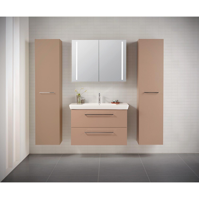 Scanbad spiegelschrank 64 x 90 cm lotto vanilla grey 2 t rig eek a kaufen bei obi - Scanbad spiegelschrank ...