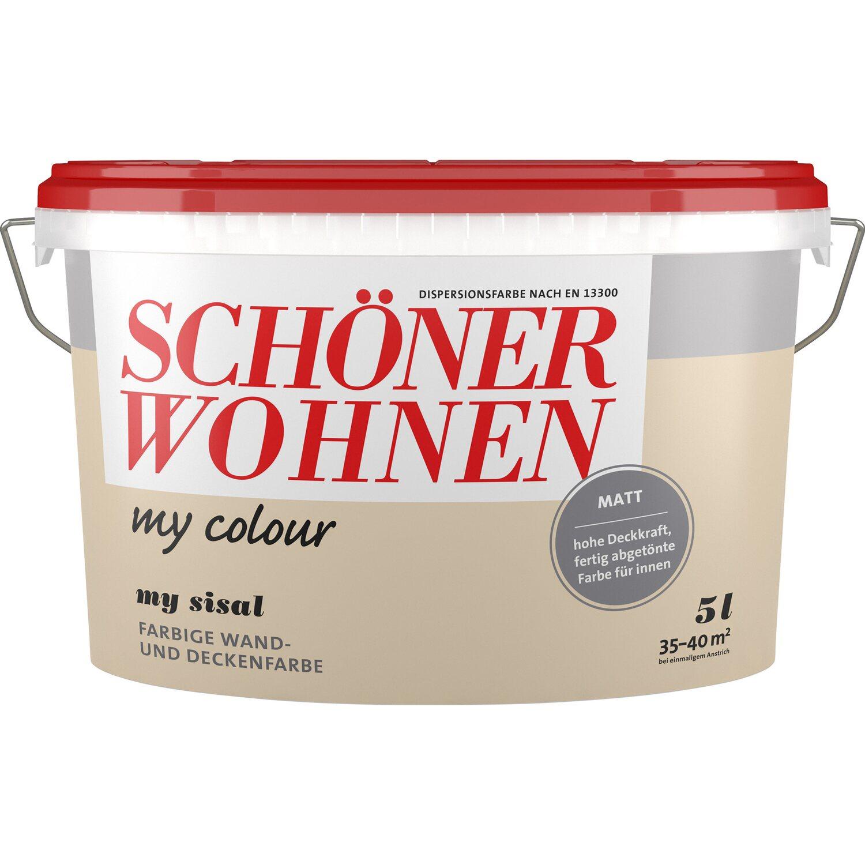 Schöner Wohnen My Colour My Basalt Matt 10 L Kaufen Bei Obi: Schöner Wohnen My Colour My Sisal Matt 5 L Kaufen Bei OBI