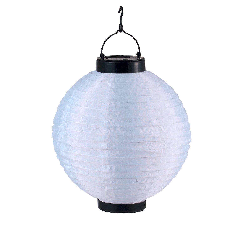 globo solarleuchte lampion wei kaufen bei obi. Black Bedroom Furniture Sets. Home Design Ideas