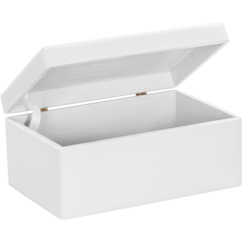 laublust holzkiste mit deckel wei kiefer 30 cm x 20 cm x 14 cm fsc kaufen bei obi. Black Bedroom Furniture Sets. Home Design Ideas
