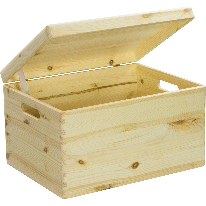 Holzkiste Mit Deckel Kaufen Bei Obi