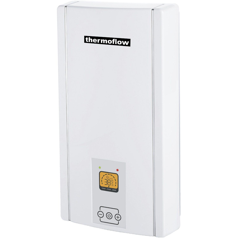 Thermoflow vollelektronischer Durchlauferhitzer Elex 3-in-1 EEK: A