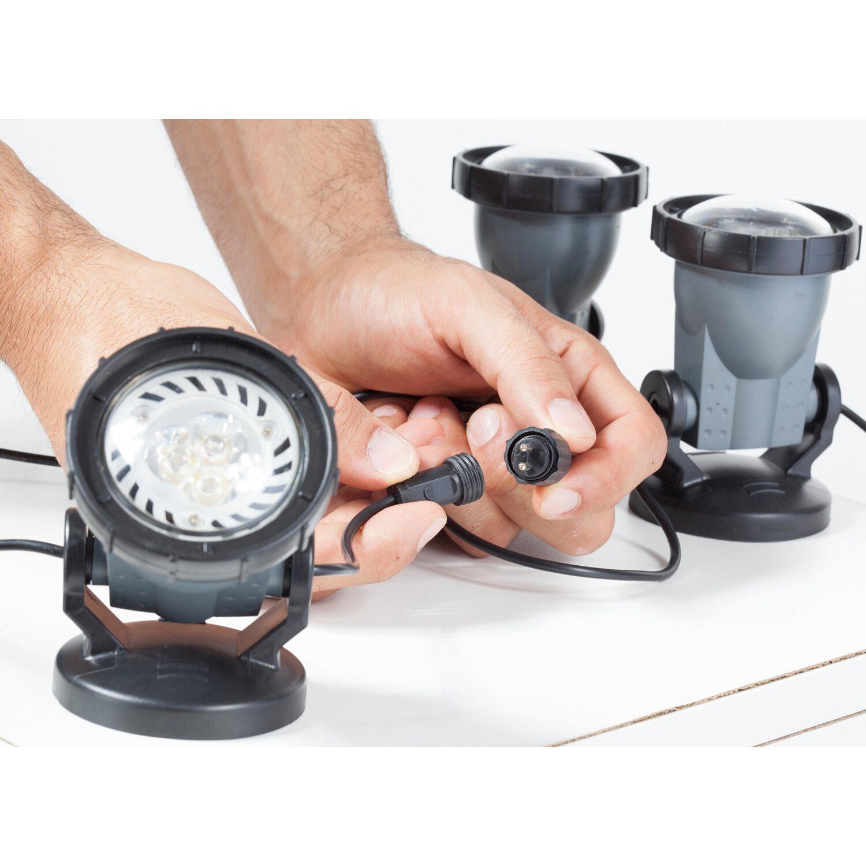 Gut bekannt Heissner LED-Teich und Gartenlicht 3-er Set EEK: A kaufen bei OBI CR34