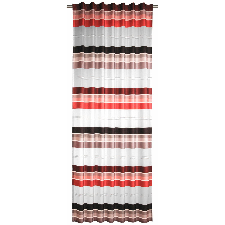 schlaufenschal mit verdeckten schlaufen rot grau 245 cm x 140 cm kaufen bei obi. Black Bedroom Furniture Sets. Home Design Ideas