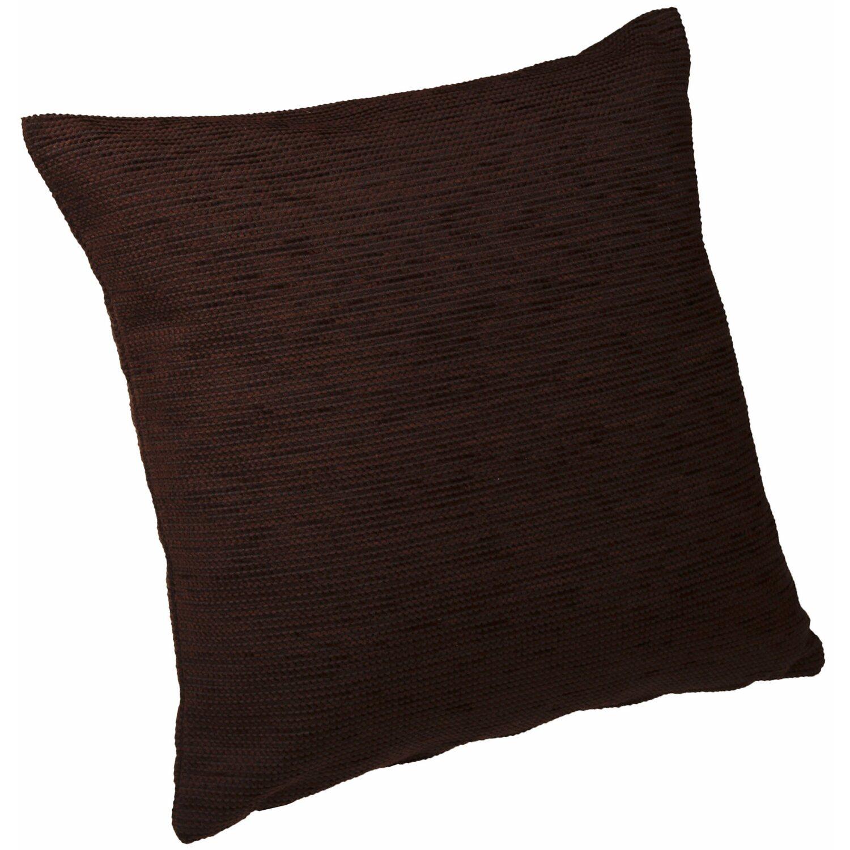 kissen mit rei verschluss london dunkelbraun 40 cm x 40 cm kaufen bei obi. Black Bedroom Furniture Sets. Home Design Ideas