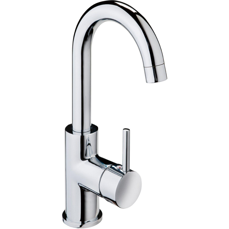 AquaSu Einhebelmischer Waschbeckenarmatur Lea Chrom