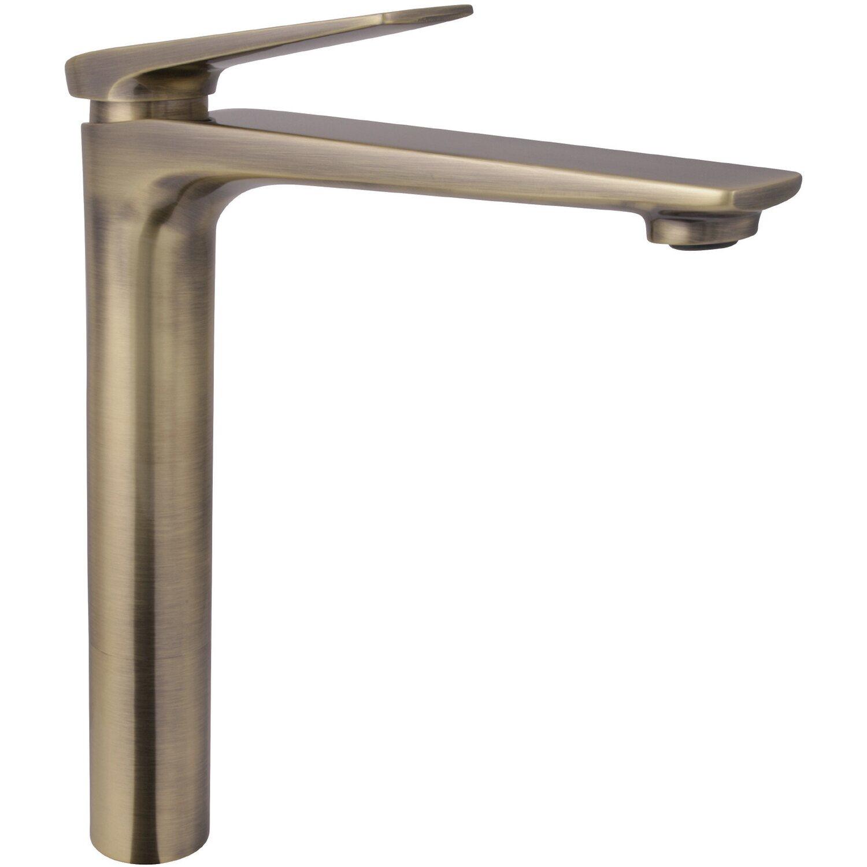 AquaSu Einhebelmischer Waschbeckenarmatur Orva hohe Ausführung Bronze | Bad > Armaturen | AquaSu