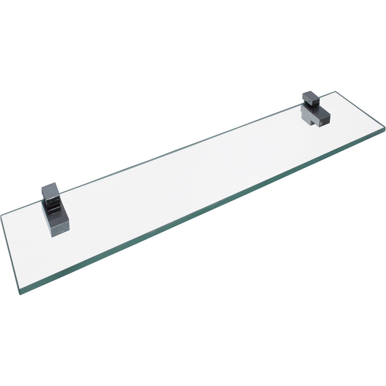 Fackelmann Glasablage 40 cm Chrom