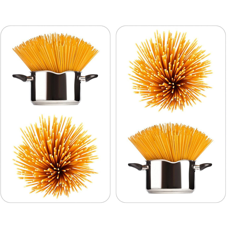 wenko herdabdeckplatte universal 2er set spaghetti kaufen. Black Bedroom Furniture Sets. Home Design Ideas