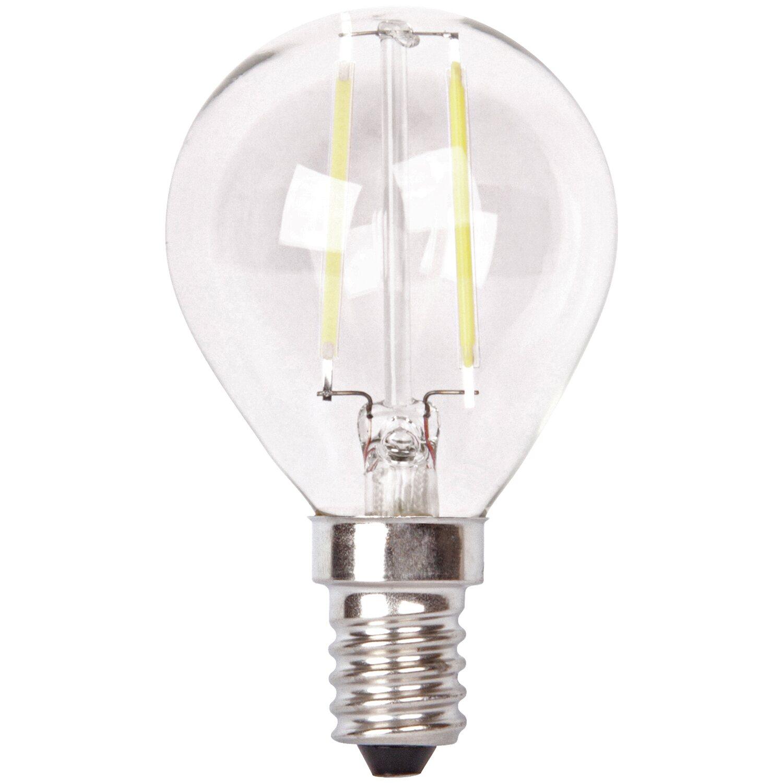 led leuchtmittel tropfenform e14 2 w 200 lm warmwei eek a kaufen bei obi. Black Bedroom Furniture Sets. Home Design Ideas