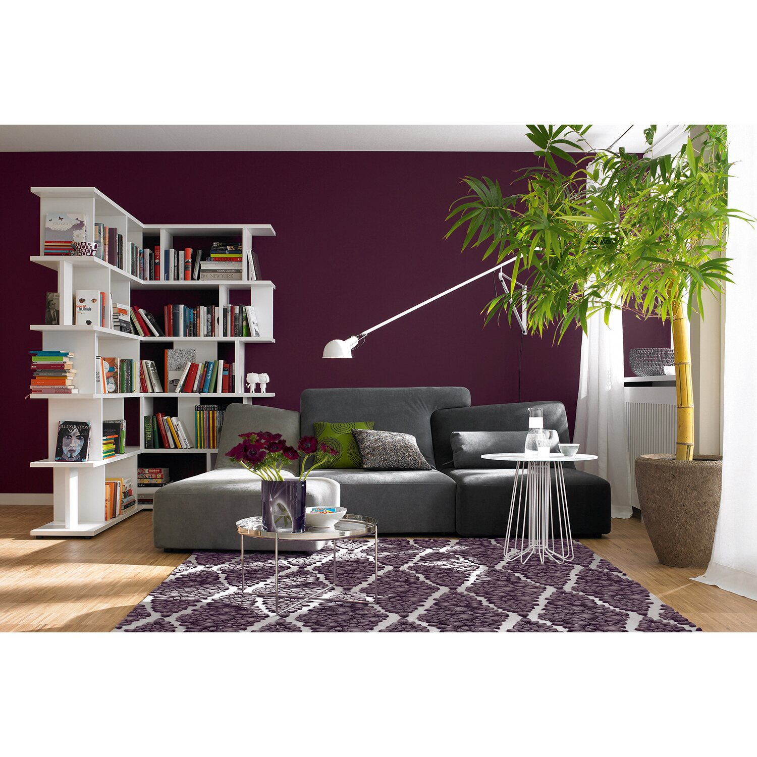 sch ner wohnen trendfarbe lounge seidengl nzend 2 5 l. Black Bedroom Furniture Sets. Home Design Ideas
