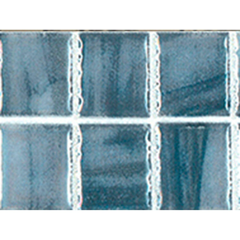 Sonstige Endlosbordüre Mosaik Blau-Grau 4,7 cm x 20 cm