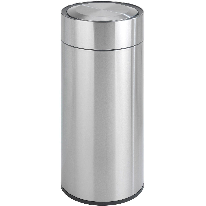 Brabantia FlipBin Mülleimer Abfalleimer Papierkorb Matt Steel 30 L