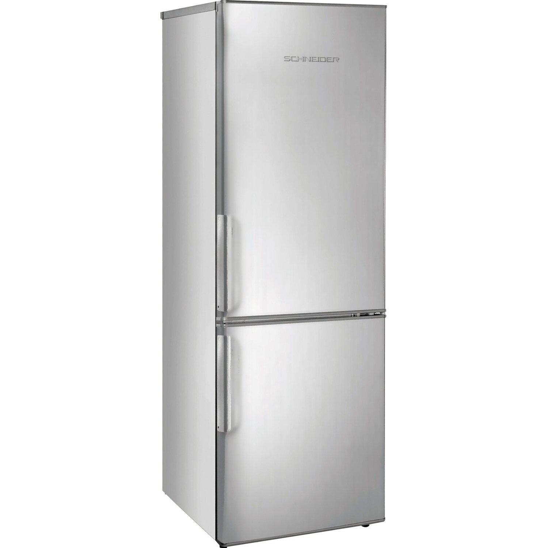 Schneider Kühl-Gefrierkombination SKG320.4A++NF SI Silber EEK: A++ | Küche und Esszimmer > Küchenelektrogeräte > Kühl-Gefrierkombis | Schneider