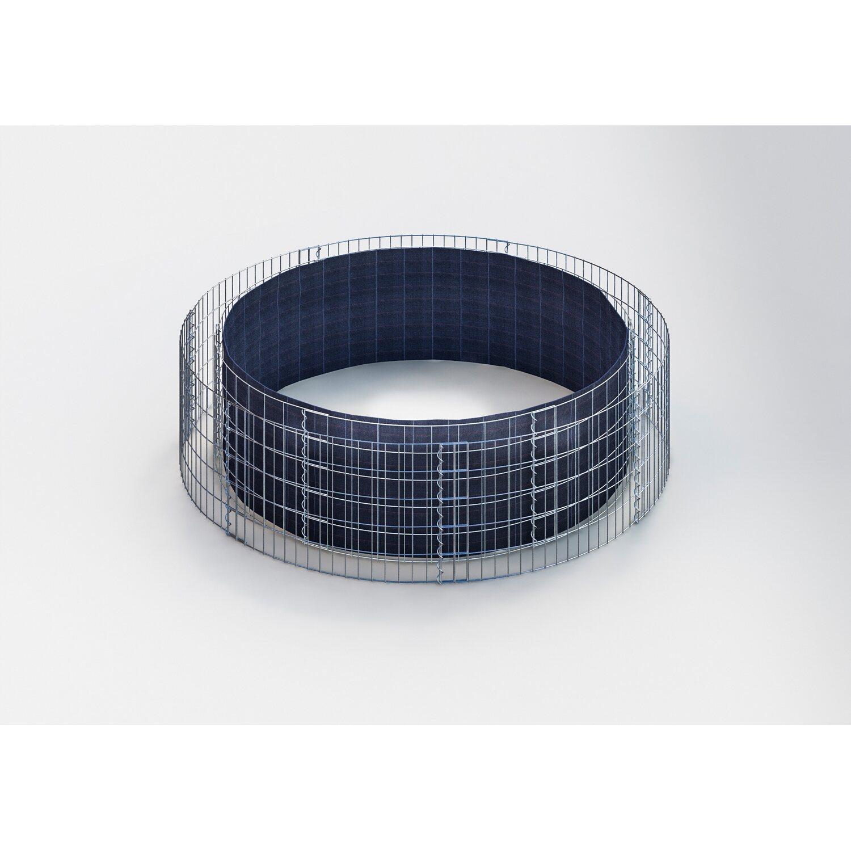 gabiona gabionen hochbeet rund 202 cm h he 50 cm. Black Bedroom Furniture Sets. Home Design Ideas