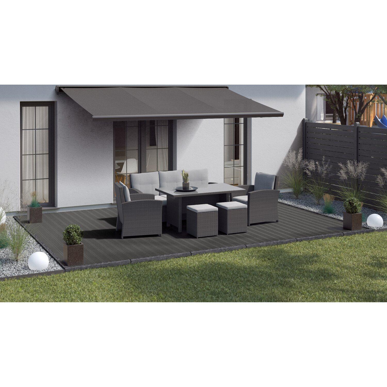Extrem Kovalex WPC Terrassendiele glatt Grau 2,6 cm x 14,5 cm Meterware VC64