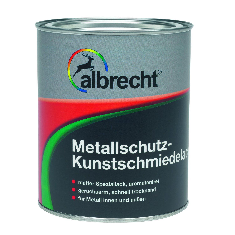 Albrecht  Metallschutz-Kunstschmiedelack Anthrazit matt 375 ml