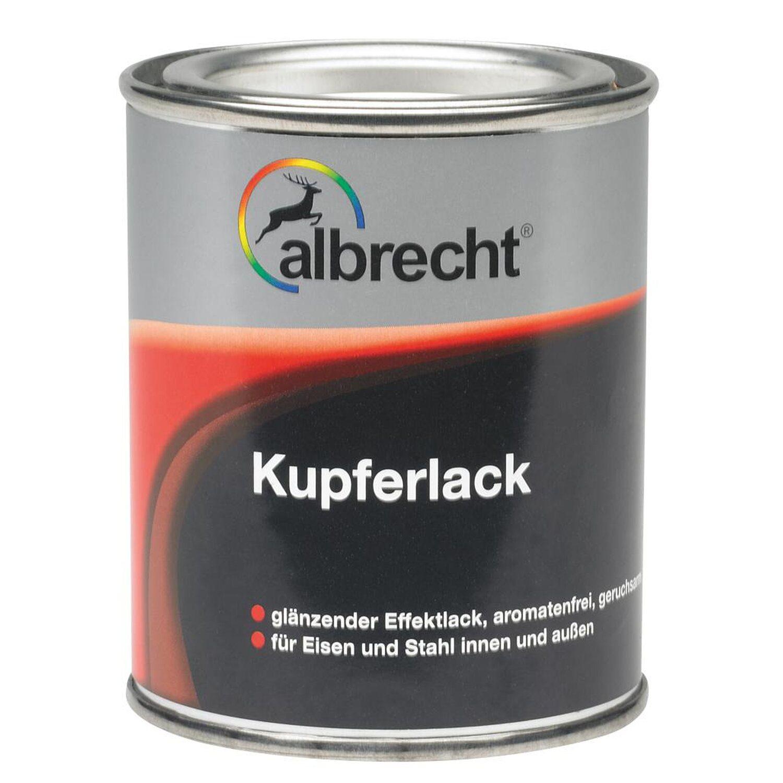 Albrecht  Kupferlack Kupfer glänzend 125 ml