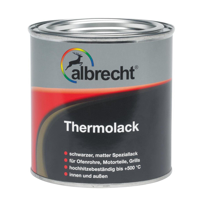 Albrecht  Thermolack Schwarz matt 375 ml