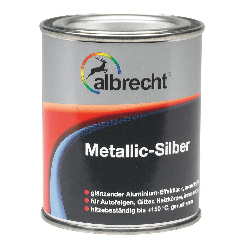 Albrecht  Metallic-Silber glänzend 125 ml