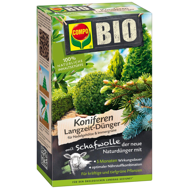 Compo  Bio Koniferen Langzeit-Dünger mit Schafwolle 2 kg
