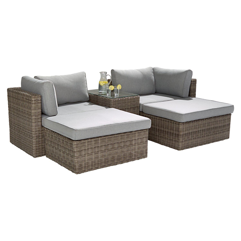 Lounge Set Olea 5 Teilig Kaufen Bei Obi