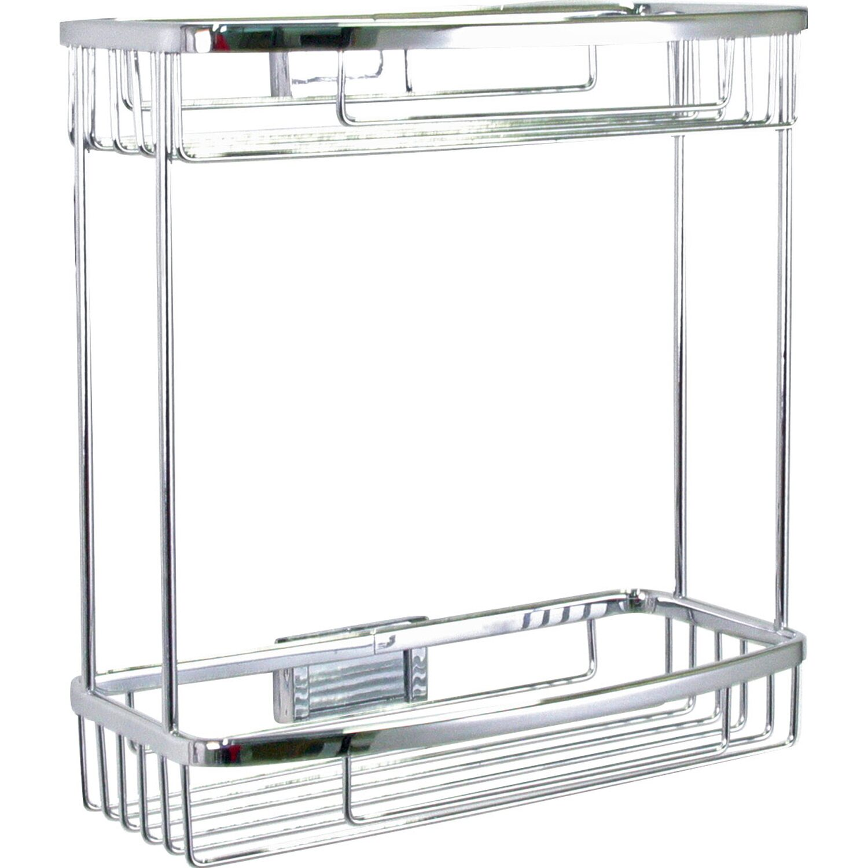 Duschkorb rechteckig metaline chrom kaufen bei obi for Planschbecken rechteckig obi