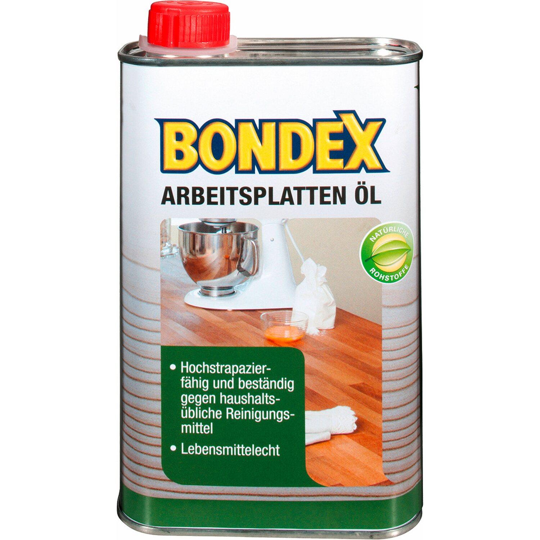 BONDEX Bondex Arbeitsplatten-Öl Transparent 500 ml