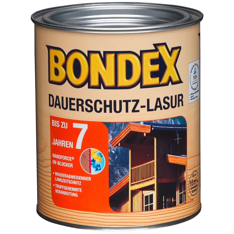 Bondex Dauerschutz Lasur Grau : bondex dauerschutz lasur nussbaum 750 ml kaufen bei obi ~ Watch28wear.com Haus und Dekorationen