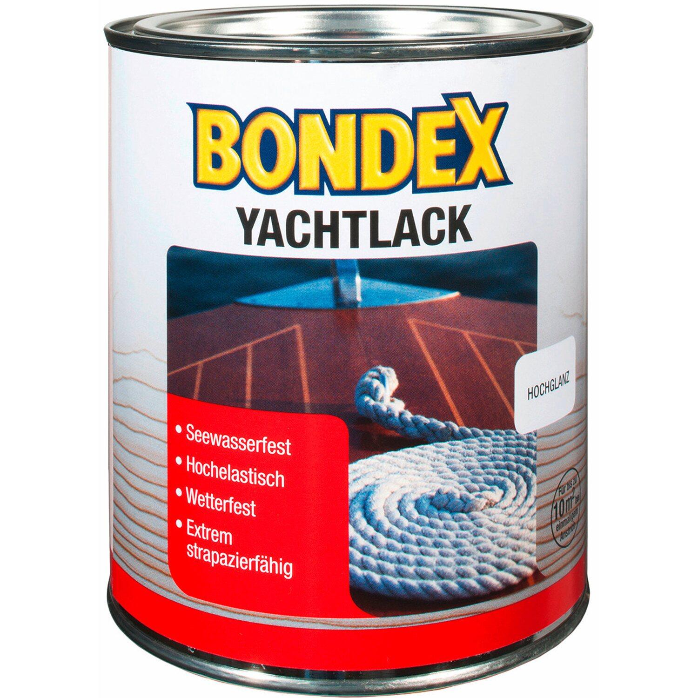 Bondex Yachtlack Transparent hochglänzend 750 ml Preisvergleich
