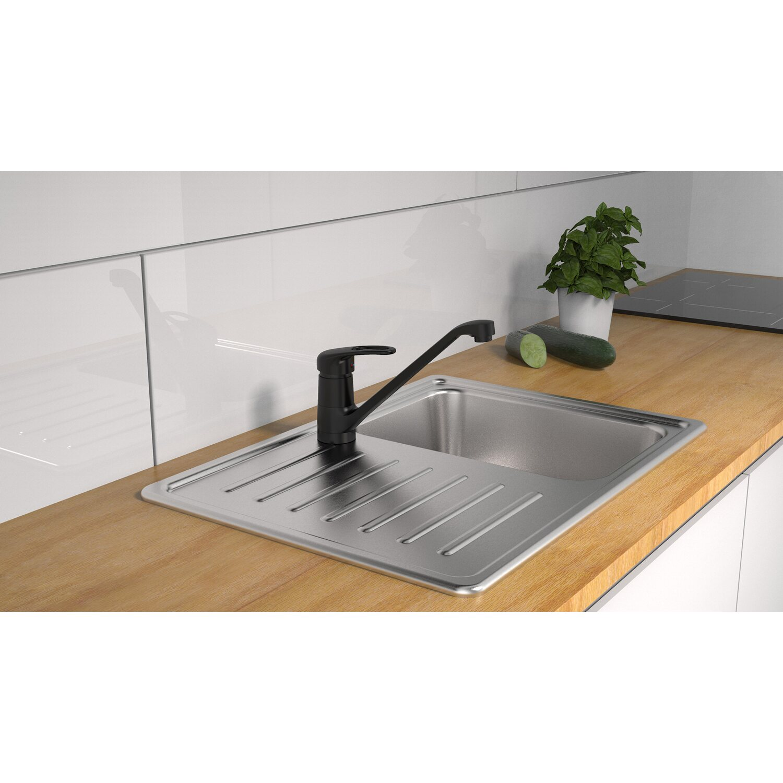 Schütte Küchenarmatur Grande Matt Schwarz