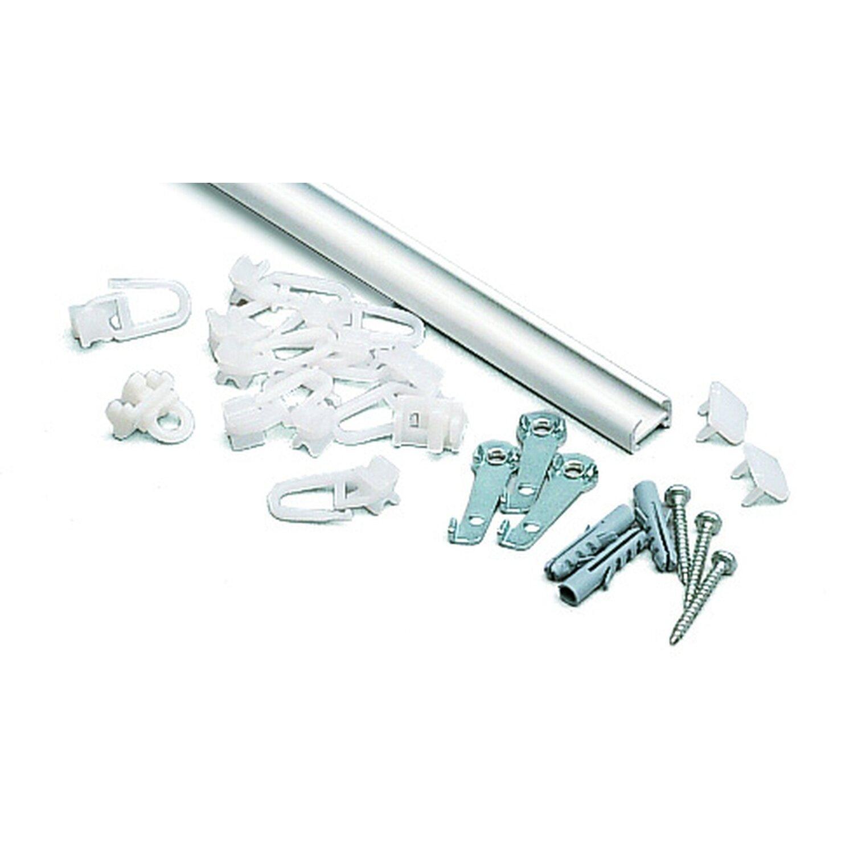 Gardinia  Aluminiumschiene Aluminium 150 cm