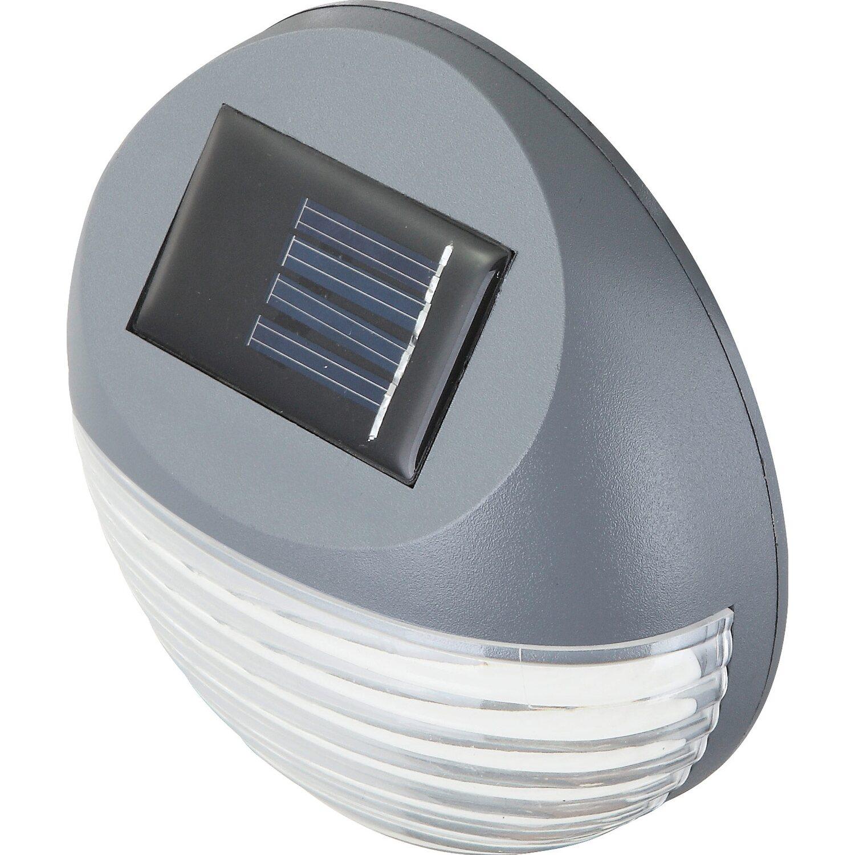 Globo Solarleuchte Zaunbeleuchtung