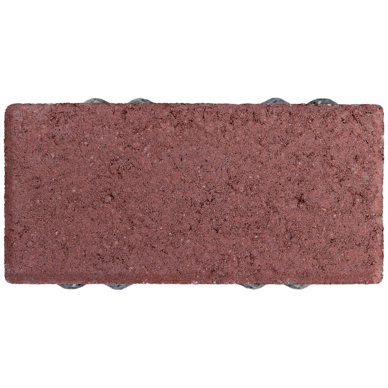 drain ko pflaster beton rot 20 cm x 10 cm x 6 cm kaufen. Black Bedroom Furniture Sets. Home Design Ideas