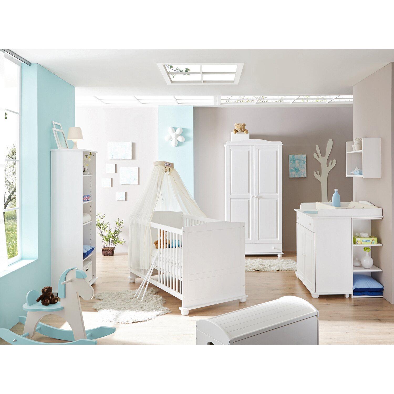 Babyzimmer Adam 5-teilig Kiefer Weiß