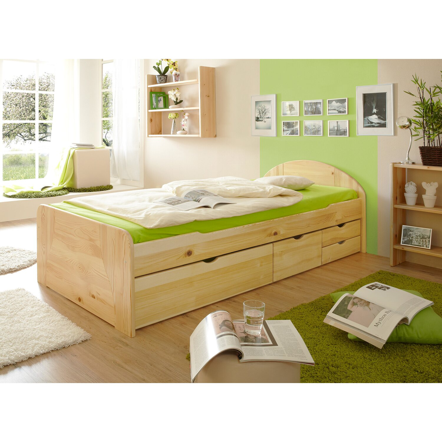 natur kiefer funktionsbetten online kaufen m bel. Black Bedroom Furniture Sets. Home Design Ideas