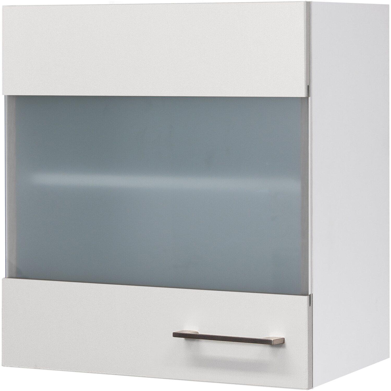 Flex-Well Exclusiv Glas-Hängeschrank Joelina 50 cm Weiß