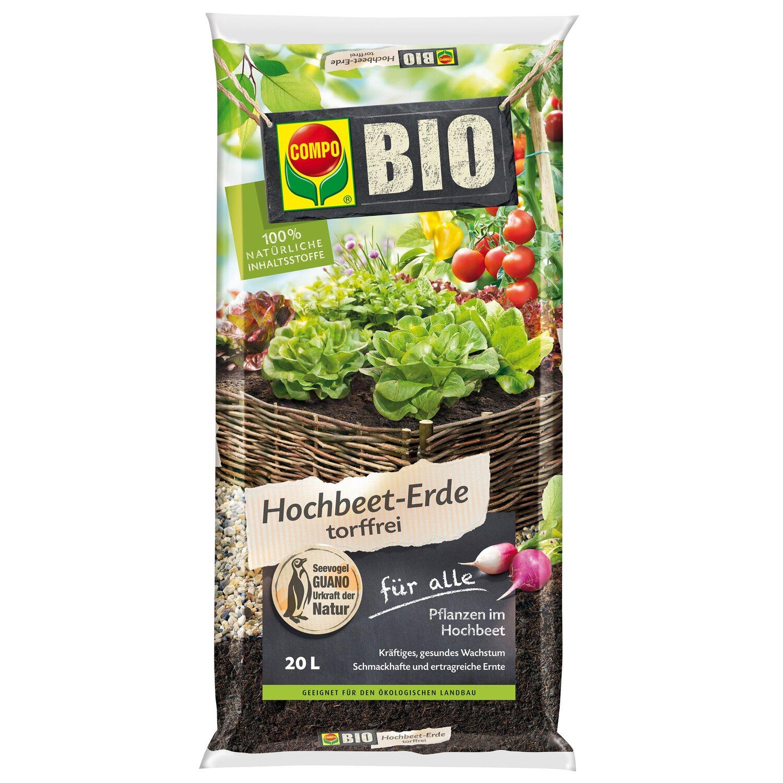 Compo  Bio Hochbeet-Erde 1 x 20 l
