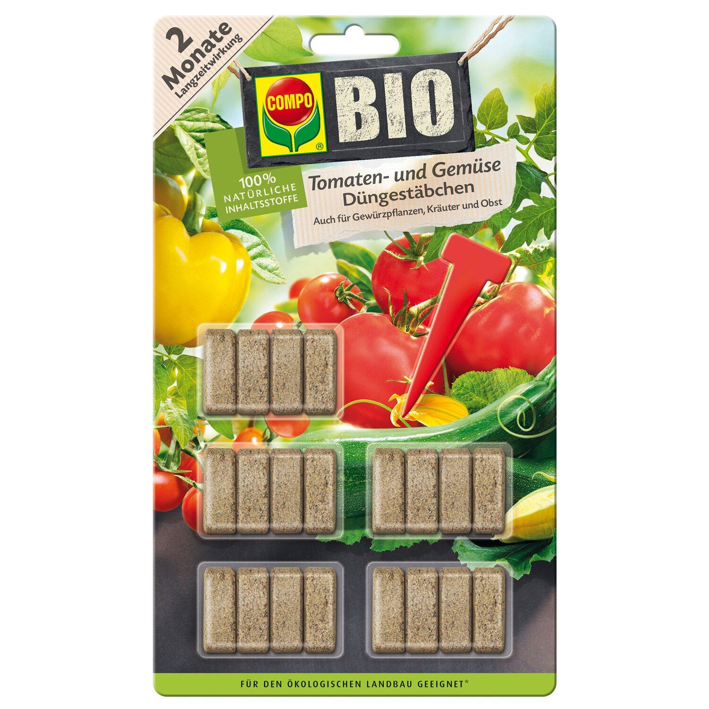 compo bio tomaten und gem se d ngest bchen 20 st bchen kaufen bei obi. Black Bedroom Furniture Sets. Home Design Ideas