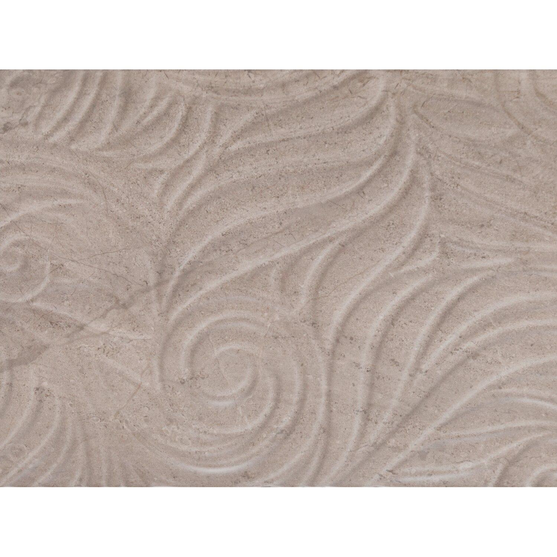 Sonstige Ansichtsmuster Wandfliese Myra Relief Hellbraun 30 cm x 60 cm