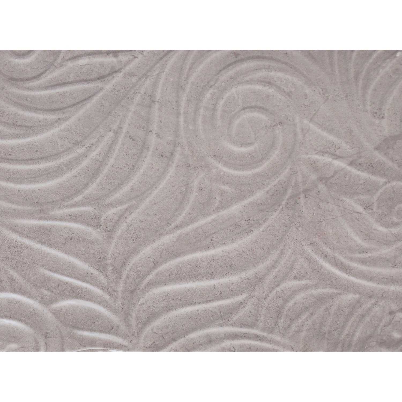 Sonstige Ansichtsmuster Wandfliese Myra Relief Grau 30 cm x 60 cm