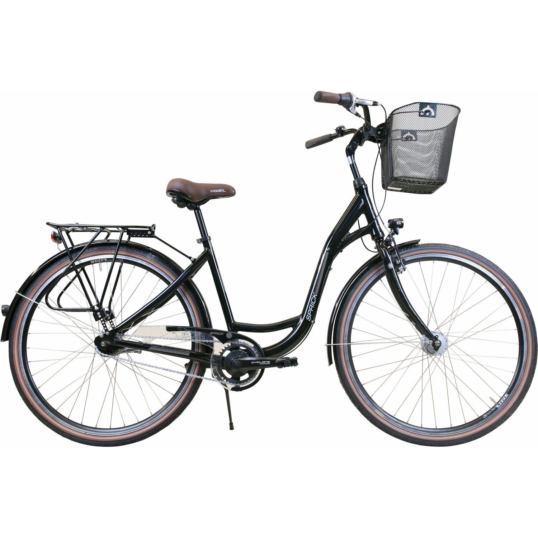 Sprick Cycle Sprick City-Fahrrad 28 7-Gang Shimano Nabenschaltung Damen
