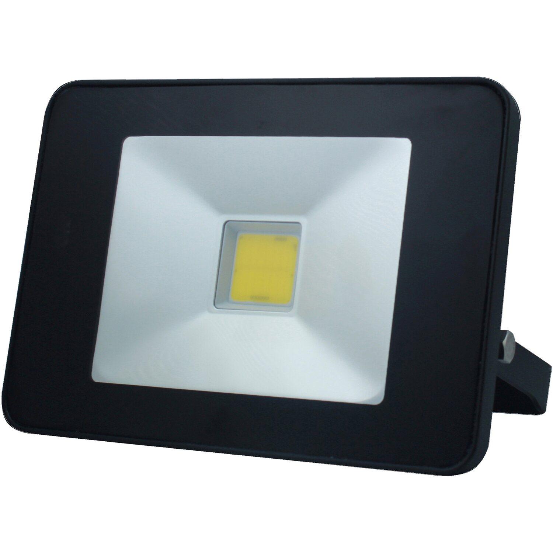 LEDVANCE 50W LED Fluter 4500lm Wand Außen Strahler 3000K Flutlicht IP65 grau