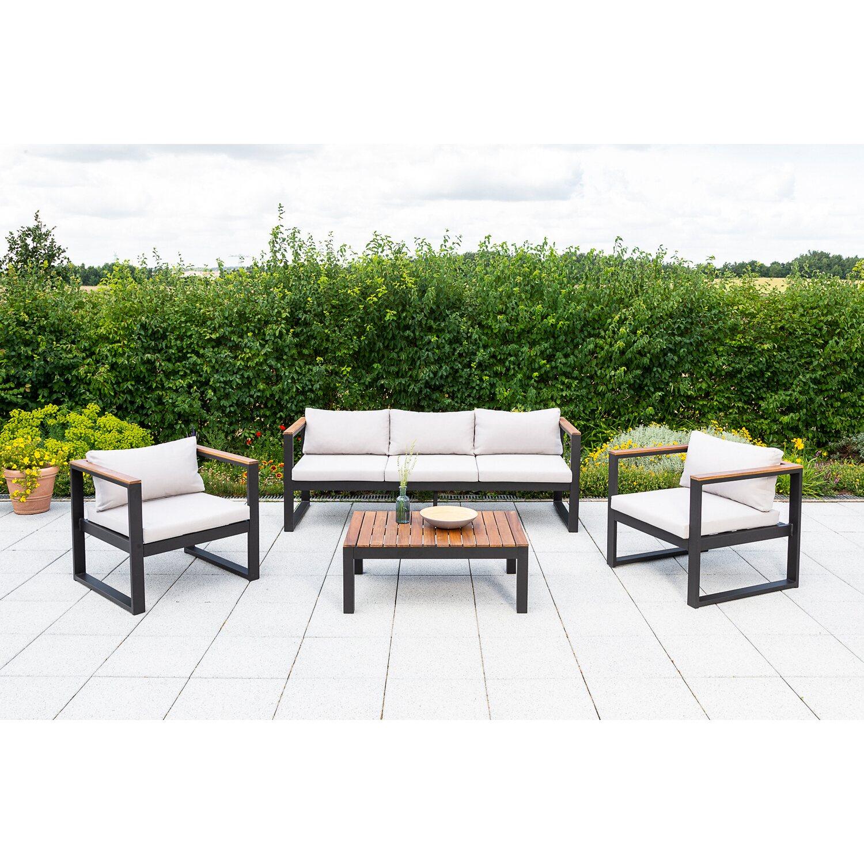 Gartenmöbel Lounge Gruppe Mykonos Kaufen Bei Obi