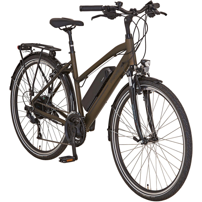 Prophete E-Bike Alu-Trekking-Fahrrad 28 Entdecker e9.6 Damen Preisvergleich